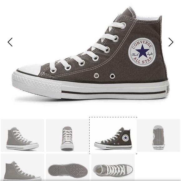 gran selección de Moda calzado Converse Shoes | Dark Grey High Tops M6 W8 | Poshmark